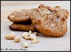 Clean Eating Peanut Butter Cookies (Click Pic for Recipe) I completely swear by CLEAN eating!!  To INSANITY and back....  One Girls Journey to Fitness, Health, & Self Discovery.... http://mmorris.webs.com/