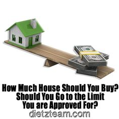 How Much House Should You Buy – Should You Go to the Limit You are Approved For?