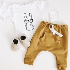 #tbt to when we use to have these mustard front pocket harems  #mymilastyle #toddlerstyle #minimal #monochrome #shopsmall #yyc #okotoks