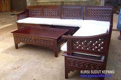 Jati Furniture Minimalis: KURSI SUDUT MINIMALIS