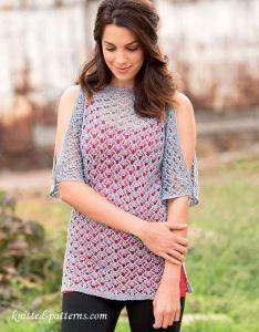 Lace tunic knitting pattern free