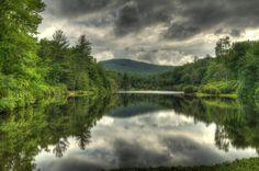 highlands nc   Highlands North Carolina Mountain Lake