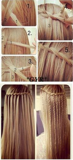 .hairstyles tutorial girls..  ❤❤♥For More You Can Follow On Insta @love_ushi OR Pinterest @ANAM SIDDIQUI ♥❤❤