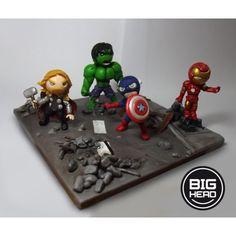 Os Vingadores (The Avengers) + cenário