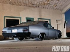 1969 Chevy Nova, the only thing I like is the exhaust through the rear bumper.