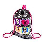 One Direction Metallic Drawstring Bag