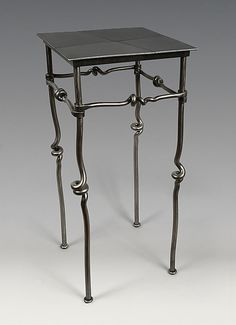 Occasional Table: Rob Caperell: Metal Side Table | Artful Home