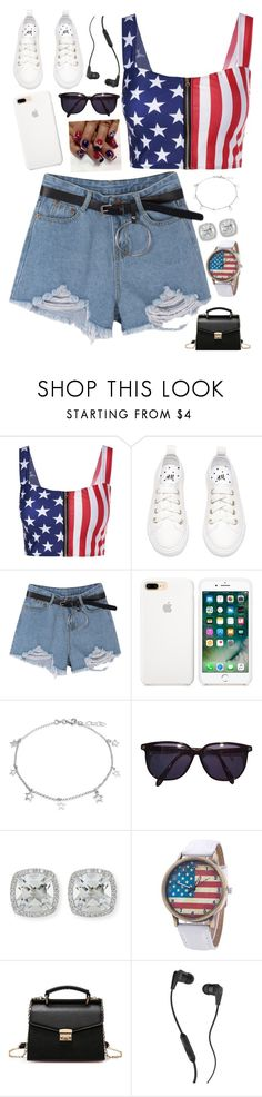 """""""Independence Day"""" by sparklequeen101 ❤ liked on Polyvore featuring Bling Jewelry, Sonia Rykiel, Frederic Sage and Skullcandy"""