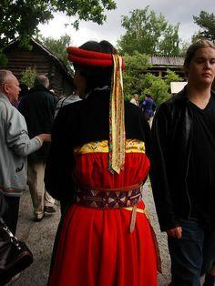 Swedish folk costume by lilou_2006, via Flickr