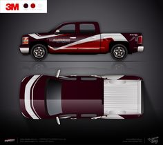 Approved livery design for Chevrolet Silverado