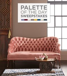 Enter the Valspar Palette of the Day Sweepstakes on Facebook for a chance to win  a gallon of a 2014 trend color. A new palette will be featured every day, 1/14 through 1/16.