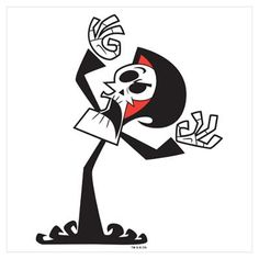 Grim from The Grim Adventures of Billy and Mandy. now who remembers this show?