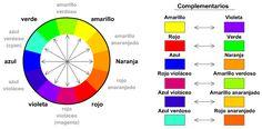 Complementarios colores texturas contrastes - Buscar con Google