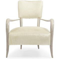 Pietra Hollywood Regency Ivory Horn Leather Arm Chair ($1,916) ❤ liked on Polyvore featuring home, furniture, chairs, accent chairs, beige arm chair, antique white chairs, horn chair, cream armchair and off white accent chair