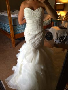 Alfred Angelo 880, find it on PreOwnedWeddingDresses.com
