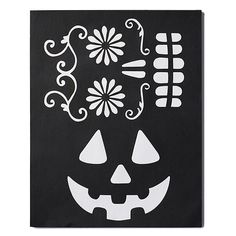 Halloween Decorating Stencils Set of 2