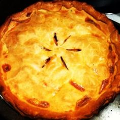 Apple Pie Recipes, Sweet Potato Recipes, Sweets Recipes, Baking Recipes, Desserts, Yummy Recipes, Australian Pie, Pie Town, Potato Pie