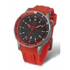 Reloj Vostok Anchar Titanio Automatico Rojo  http://www.tutunca.es/reloj-vostok-anchar-titanio-automatico-rojo