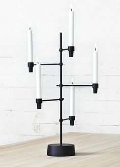 Spira candle holder by Swedish designer Staffan Holm.