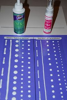 Make your own glue dots