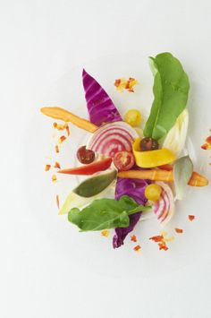 Colorful Vegetable Bagna Cauda  http://g-veggie.com/gandv/