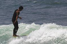 """Tribesman Brian """"Loafer"""" Anderson, San Onofre. #hippytreetribe #surfandstone"""