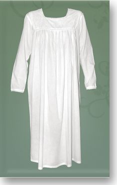5a2f8d3046 My favourite sleepwear. White cotton nighties (nightgowns). Cool