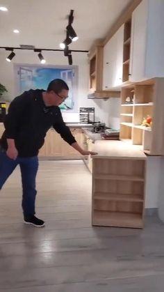 Pantry Design, Kitchen Cabinet Design, Kitchen Redo, Modern Kitchen Design, Home Decor Kitchen, Interior Design Kitchen, Kitchen Furniture, Diy Furniture, Kitchen Ideas