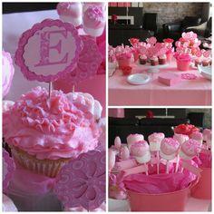 Treats at a Pink Party #pink #partytreats