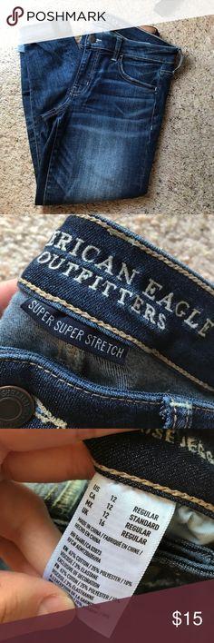 american eagle skinny jegging super low rise jegging Jeans Skinny