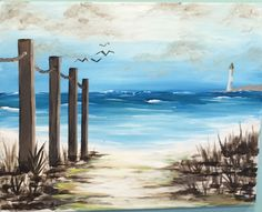 Wine and Canvas Wine Painting, Acrylic Painting Canvas, Painting & Drawing, Canvas Wall Art, Watercolor Landscape, Landscape Art, Landscape Paintings, Watercolor Art, Nautical Painting