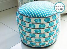 elephant pouf-AHHHH SO CUTE:)