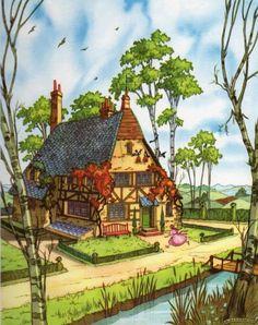Alice - Vittorio Accornero, 1954 - white rabbits house