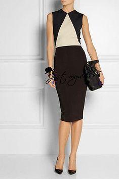 2014 WOMENS VICTORIA BECKHAM STYLE FASHION CELEBRITY DRESS Dresses 148