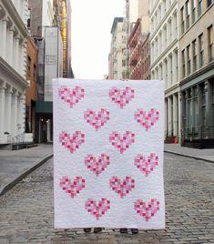 Free Pattern // Heart to Heart Quilt   Dear Stella Design