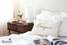 Saludate todos los dias ..  Bonjour! Good morning! Buen Dia!  www.bharani.com.ar