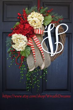 by WreathDreams Rustic Christmas, Winter Christmas, Christmas Holidays, Xmas, Etsy Christmas, Holiday Wreaths, Holiday Fun, Christmas Decorations, Winter Wreaths