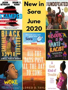 In Granite's Sora we've curated a collection of over 80 books for children and teens discussing race, racism, civil rights, social justice, and related topics, both fiction and nonfiction.