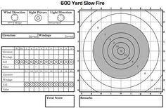 Image result for Printable Sniper Log Book