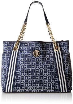 Tommy Hilfiger Web Jacquard Tote Bag >>> Find out more about the great product at the image link.