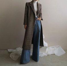 Best how to wear denim skirt winter fashion ideas Looks Street Style, Looks Style, My Style, Hijab Fashion, Korean Fashion, Fashion Outfits, Womens Fashion, Fashion Ideas, Fashion Scarves