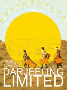 DARJEELING LIMITED poster by StoryShoes (Rose Ga)