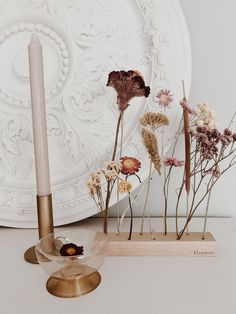 Modern Lighting Ideas To Brighten Up Your Home Decor! - Our very first flowergram. The most beautiful dried flowers in a row, delivered by the letterbox.