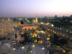 Jerusalem. If I only had one place left to see, I'd go here.