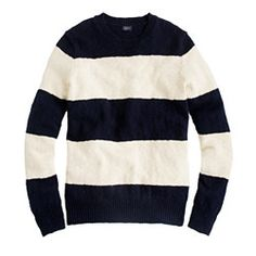 Rugby-stripe sweater