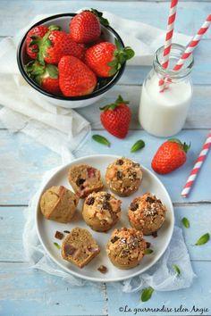 muffins à la fraise vegan sans gluten 1