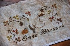 My Heartstring: Ever Blessed Stitch-Along - free pattern