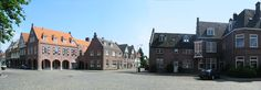 Tuindorp Hengelo. In deze arbeiderswijk zijn de overblijfselen van de textielgeschiedenis van Twente nog zichtbaar.
