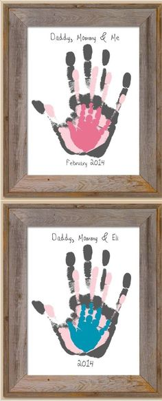 16 New ideas for baby diy painting fun Kids Crafts, Baby Crafts, Diy And Crafts, Arts And Crafts, Family Crafts, Newborn Crafts, Art Projects, Projects To Try, House Projects