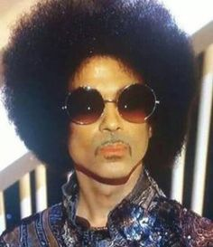 Could we love this man any more? Prince rocking his #afro. Shop at: www.thepuffcuff.com. #naturalhair